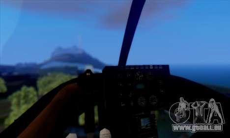 GTA 5 Maverick pour GTA San Andreas sur la vue arrière gauche
