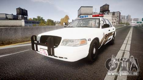 Ford Crown Victoria LCSO [ELS] Edge für GTA 4