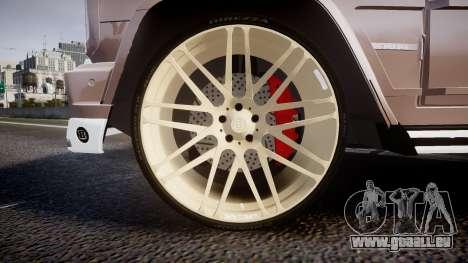 Mercedes-Benz G65 Brabus rims1 pour GTA 4 Vue arrière