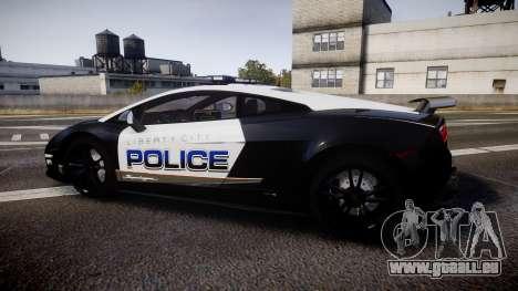 Lamborghini Gallardo LP570-4 LCPD [ELS] pour GTA 4 est une gauche