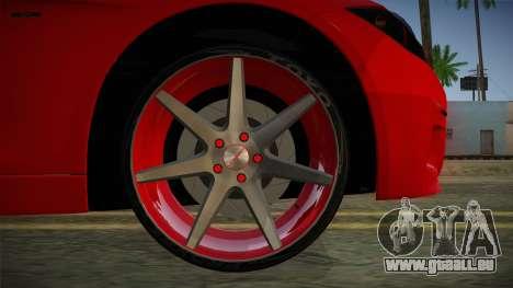 BMW 335i für GTA San Andreas zurück linke Ansicht