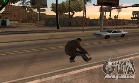 Des Animations à partir de GTA 4 pour GTA San Andreas
