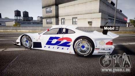 Mercedes-Benz CLK LM 1998 PJ1 pour GTA 4 est une gauche