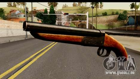 Sawnoff Shotgun HD für GTA San Andreas
