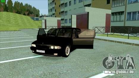 BMW 730i für GTA San Andreas Unteransicht