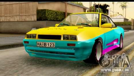 Opel Manta für GTA San Andreas