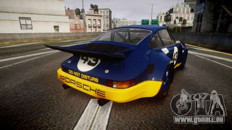 Porsche 911 Carrera RSR 3.0 1974 PJ43 für GTA 4 hinten links Ansicht