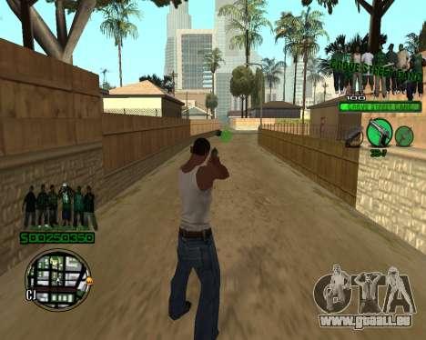 C-HUD Grove pour GTA San Andreas