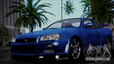 Nissan Skyline GT-R V Spec II 2002 für GTA San Andreas