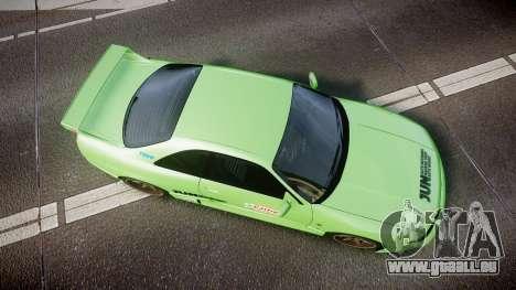 Nissan Skyline BCNR33 JUN VER 1995 v2.0 pour GTA 4 est un droit