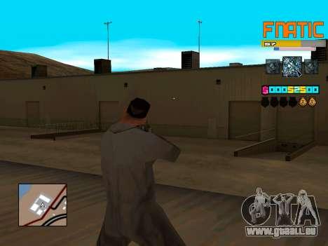 C-HUD Fnatic pour GTA San Andreas deuxième écran