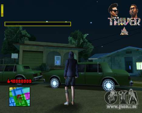 C-HUD Tawer By Flocky pour GTA San Andreas deuxième écran
