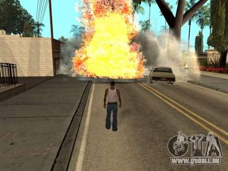 New Realistic Effects 3.0 für GTA San Andreas dritten Screenshot