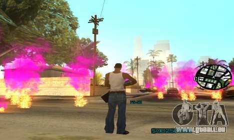New Pink Effects pour GTA San Andreas cinquième écran