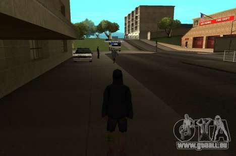 Neue HP color Spieler für GTA San Andreas zweiten Screenshot