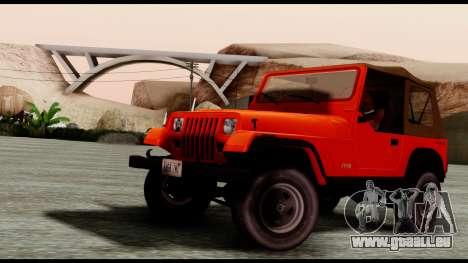 Jeep Wrangler für GTA San Andreas
