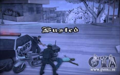 ENBSeries Wade Coronos für GTA San Andreas dritten Screenshot