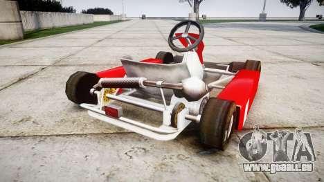 Go Kart für GTA 4 hinten links Ansicht