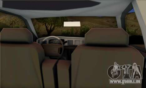 Ford Crown Victoria NYPD  Mazarine pour GTA San Andreas laissé vue