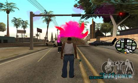 New Pink Effects für GTA San Andreas