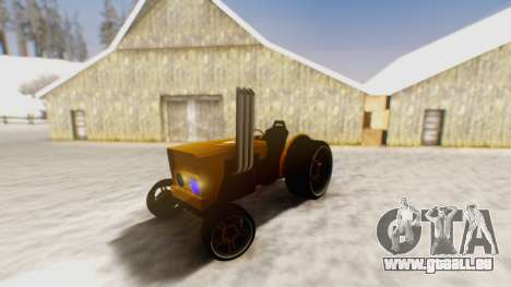 Tractor Kor4 pour GTA San Andreas