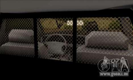 Ford Crown Victoria 1994 Sheriff für GTA San Andreas zurück linke Ansicht