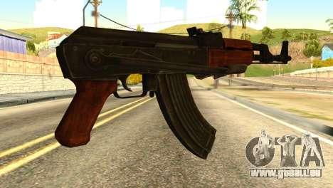 AK47 from Global Ops: Commando Libya für GTA San Andreas zweiten Screenshot