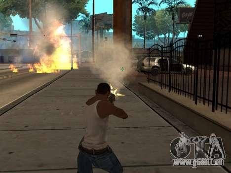 New Realistic Effects 3.0 für GTA San Andreas her Screenshot