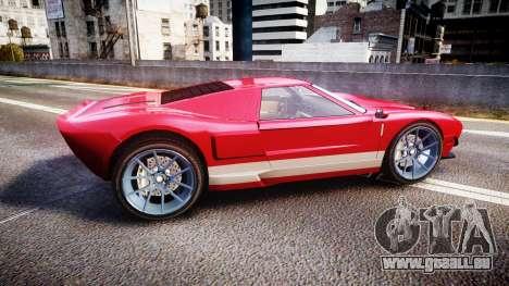 Vapid Bullet 2015 Facelift für GTA 4 linke Ansicht