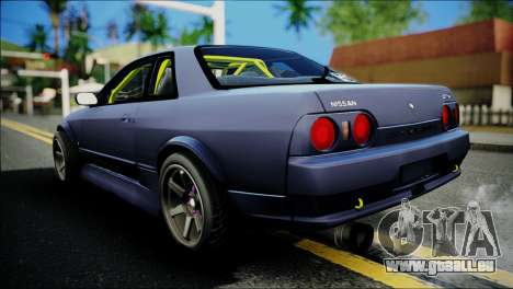 Nissan Skyline GT-S R32 pour GTA San Andreas laissé vue