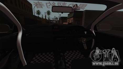 Honda Civic EG6 für GTA San Andreas Innenansicht
