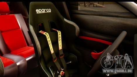 Dacia Logan MXP pour GTA San Andreas vue arrière