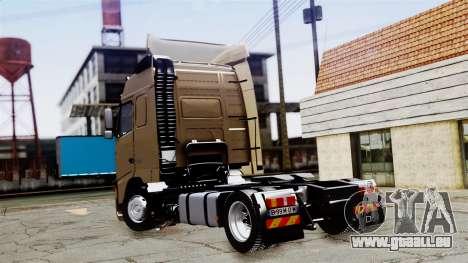 Volvo FH12 Low Deck pour GTA San Andreas laissé vue