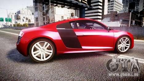 Audi R8 E-Tron 2014 für GTA 4 linke Ansicht