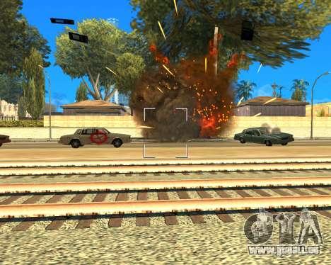 Ledios New Effects pour GTA San Andreas troisième écran