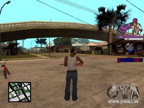 C-HUD TAWER pour GTA San Andreas troisième écran