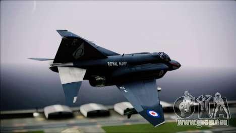 F4 Royal Air Force für GTA San Andreas linke Ansicht