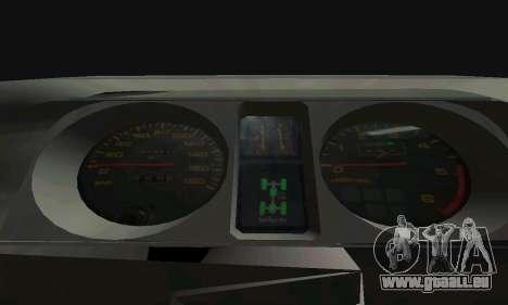 Mitsubishi Pajero Off-Road für GTA San Andreas Unteransicht