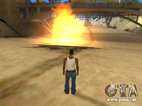 Realistic Effects v3.4 by Eazy für GTA San Andreas dritten Screenshot