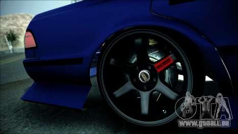 Toyota Mark 2 JZX81 für GTA San Andreas zurück linke Ansicht