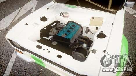 Ford Escort RS1600 PJ48 pour GTA 4 Vue arrière