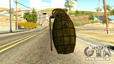 Grenade from Global Ops: Commando Libya pour GTA San Andreas