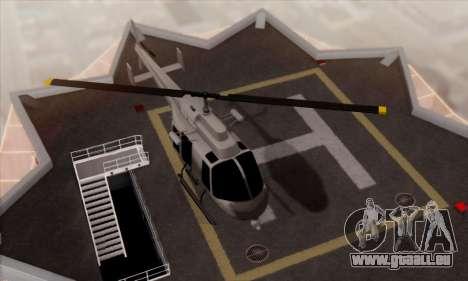 GTA 5 Maverick pour GTA San Andreas vue de droite