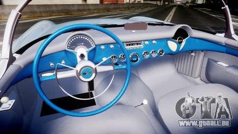 Chevrolet Corvette C1 1953 stock pour GTA 4 Vue arrière