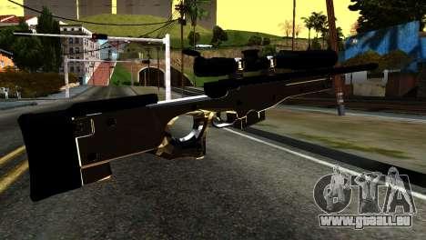 New Sniper Rifle pour GTA San Andreas deuxième écran