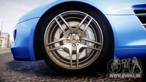 Mersedes-Benz SLS AMG 2010 für GTA 4 Rückansicht