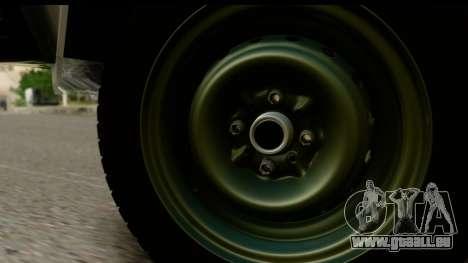 VAZ 2107 Flux pour GTA San Andreas vue de droite