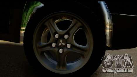 Mitsubishi Outlander für GTA San Andreas rechten Ansicht