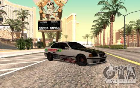 BMW M3 E36 VCDT pour GTA San Andreas