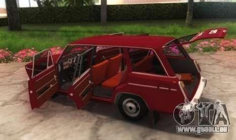 VAZ-21032 v2.0 pour GTA San Andreas vue arrière